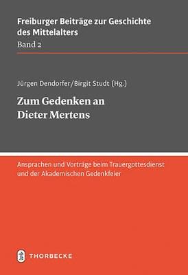 Buch: Zum Gedenken an Dieter Mertens